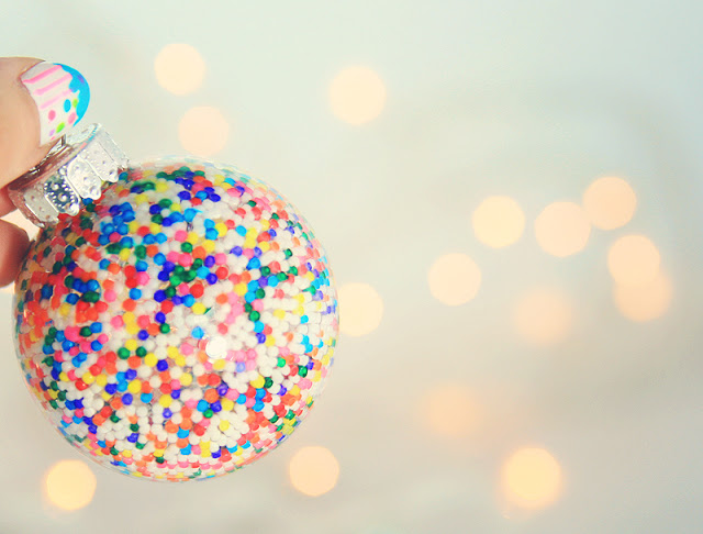 Candy ornaments! CUTE!