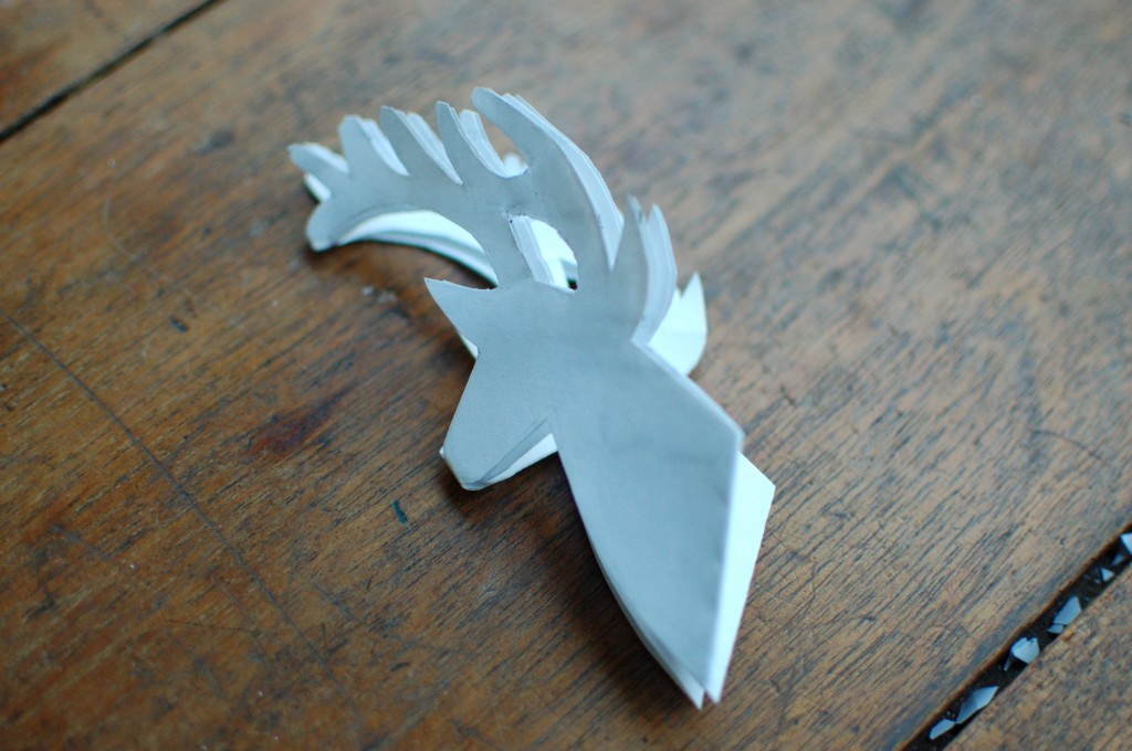 deer snowflake