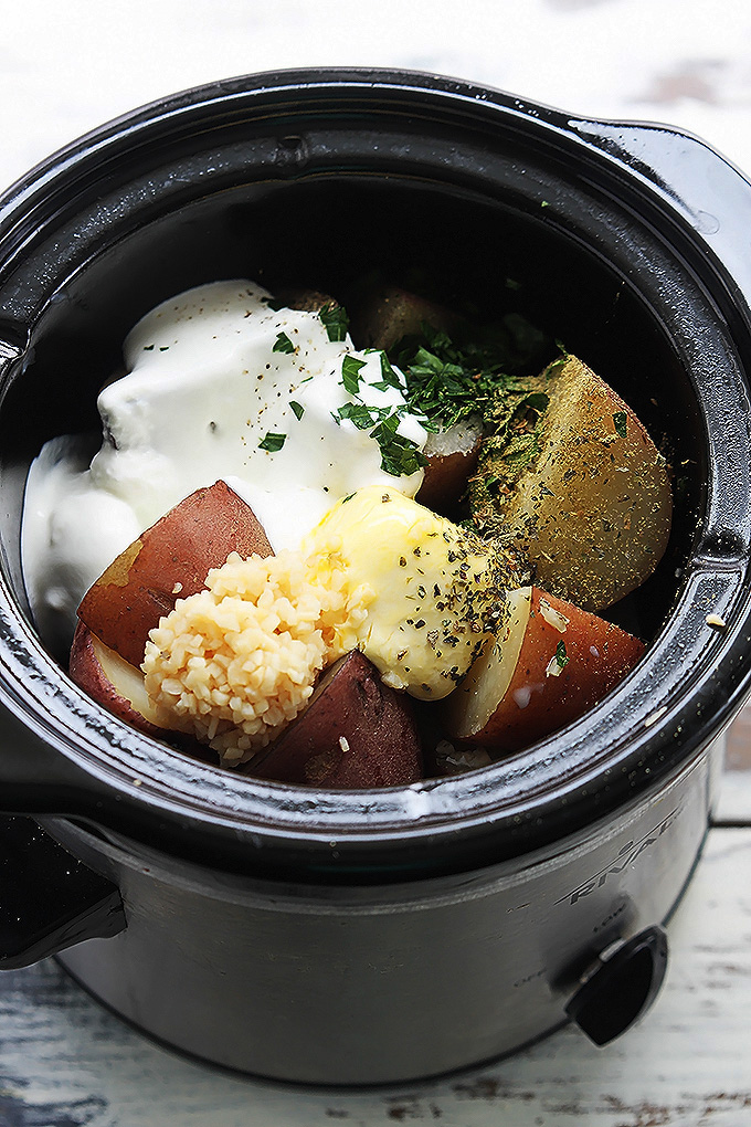 How to make mashed potatoes in a slow cooker