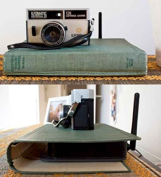 Disguise your wireless router!