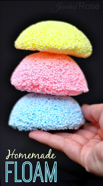 Make your own floam. Hours of fun for kids!
