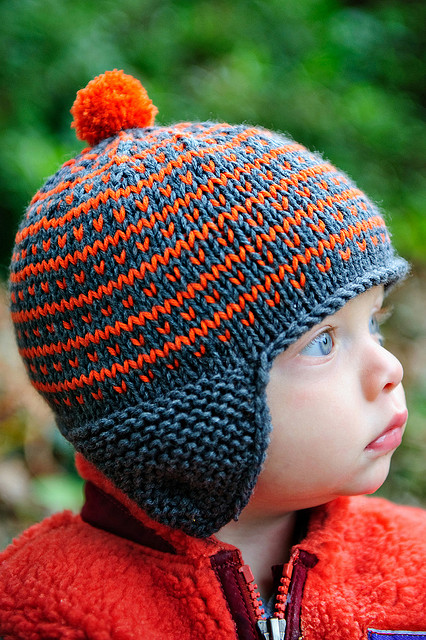 Knitting Pattern For Infant Hat With Ear Flaps : Crochet and Knit Hat Patterns for Boys - Andreas Notebook
