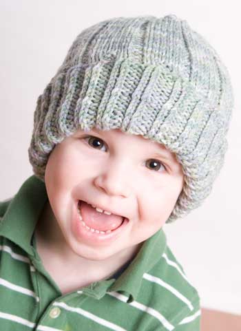 Crochet and Knit Hat Patterns for Boys - Andreas Notebook