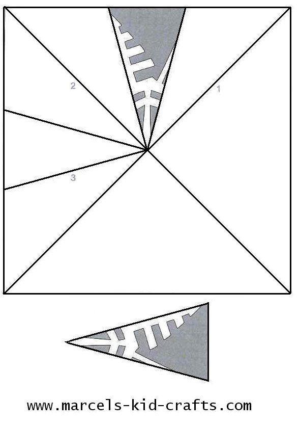 basic snowflake templates for kids!