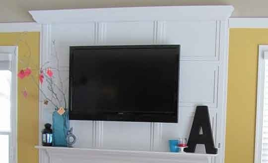 How to hide your TV cords! GENIUS