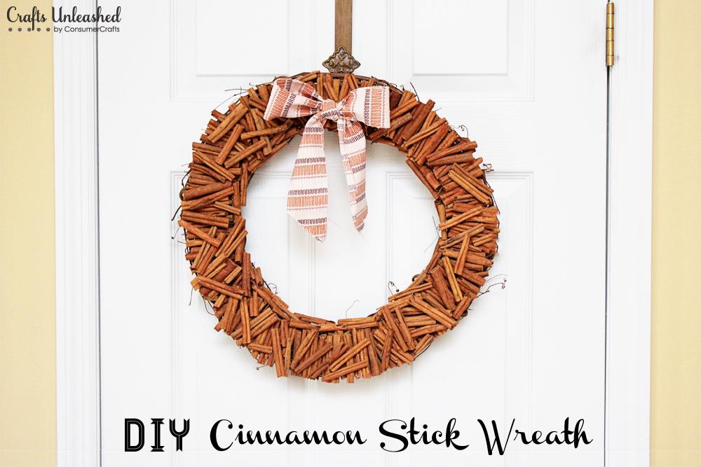 Cinnamon stick wreath