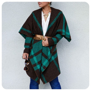 3 DIY Blanket Coat Patterns