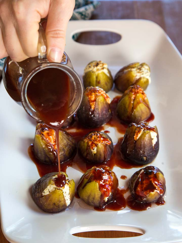 Stuffed figs. YUM