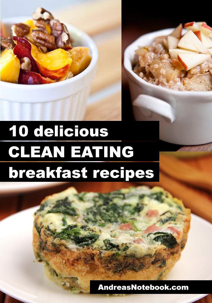 10 clean eating breakfast recipes