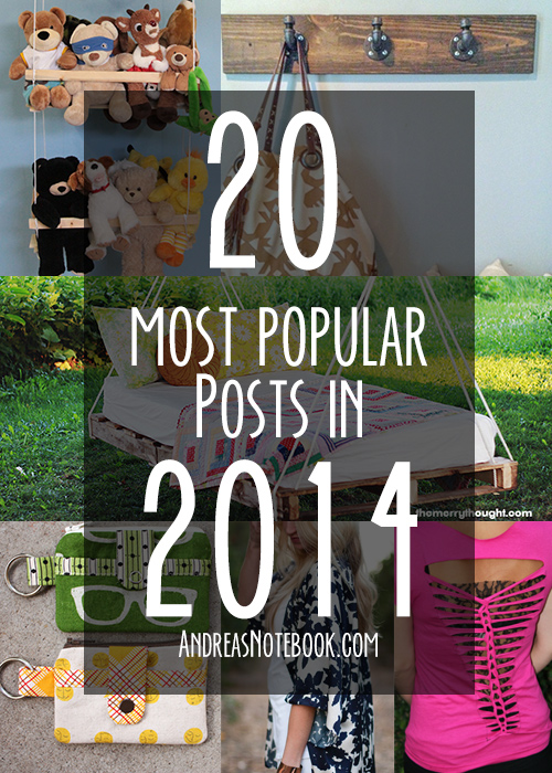 20 most popular posts of 2014 featured on AndreasNotebook.com