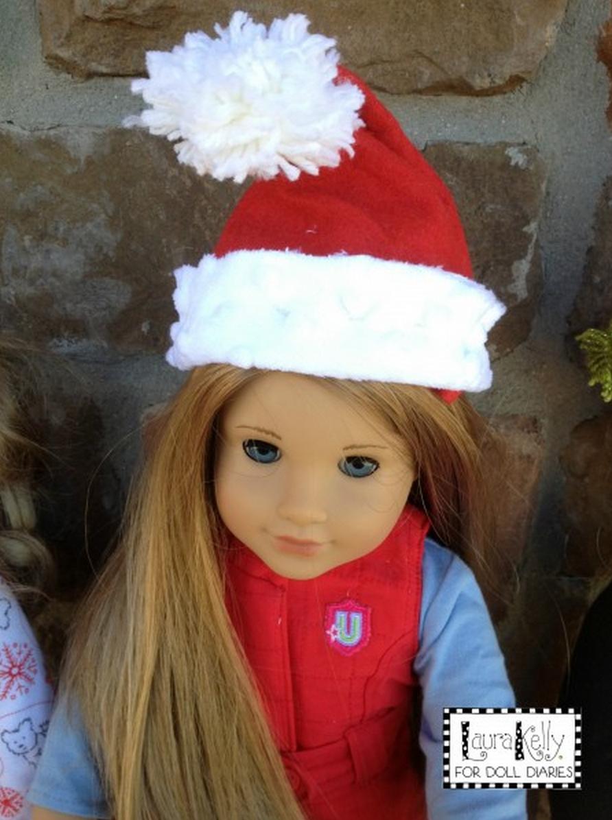 Doll Santa Hat Pattern