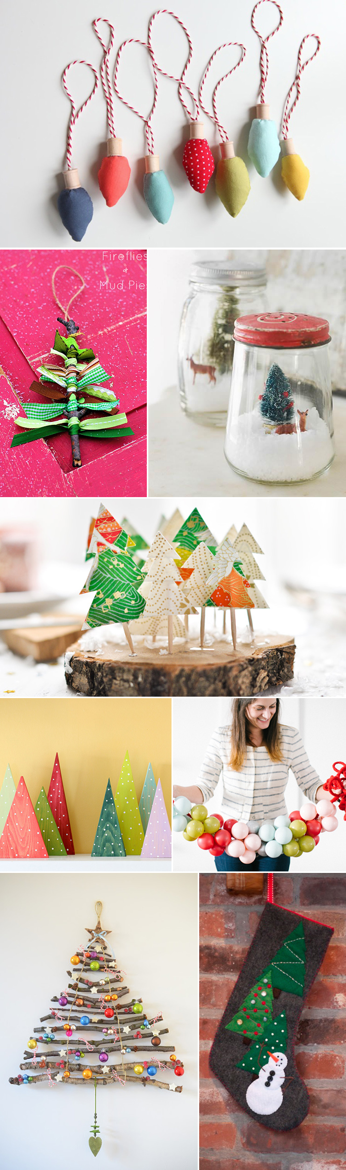 DIY Christmas tutorials for crafts & decor