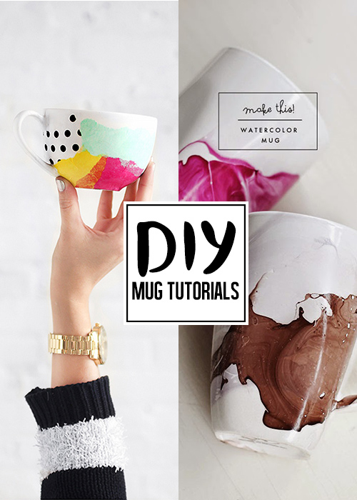 DIY mug tutorials you'll need to see!