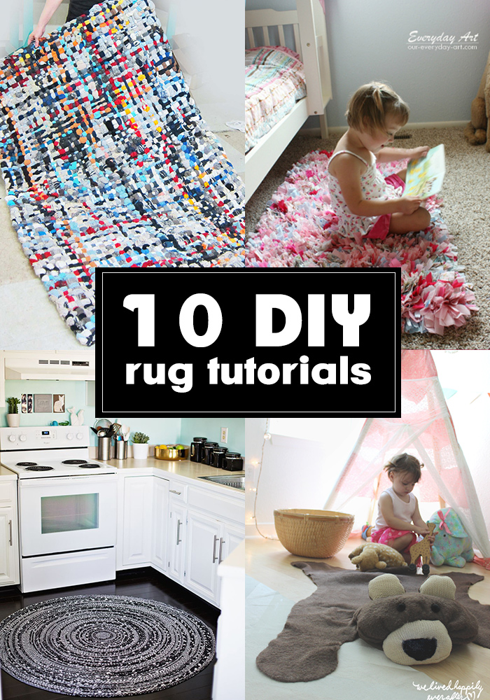 10 totally amazing DIY rug tutorials you should see!