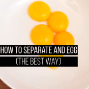 how to separate an egg the best way