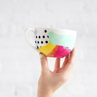 Colorful DIY Mugs