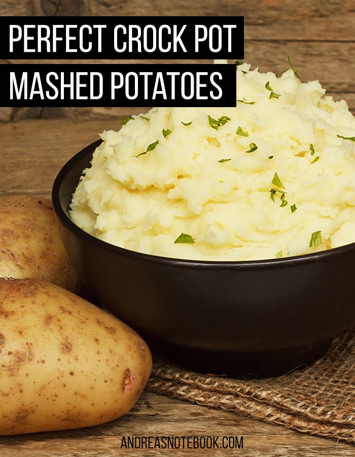 How to make mashed potatoes in a crock pot!