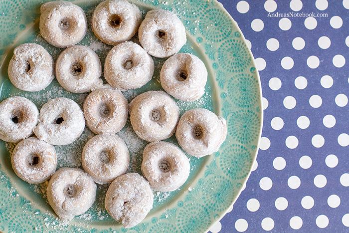 gluten free doughnuts on a plate