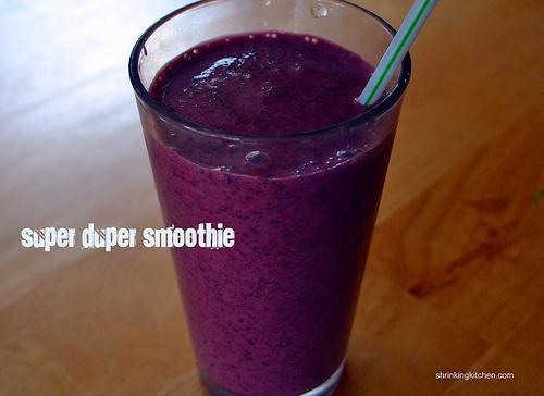 Super duper fiber packed smoothie