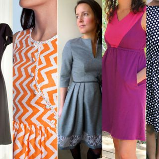 5 Free Womens Dress Patterns
