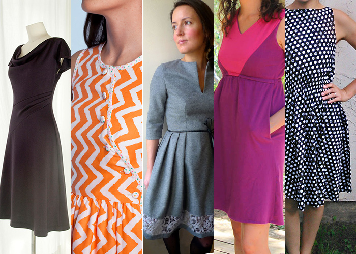 5 Completely Free Womens Dress Patterns