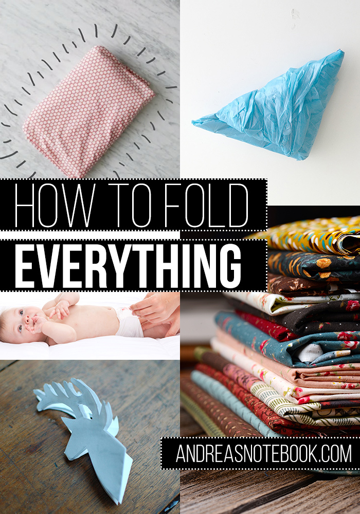 How to fold absolutely everything! 25+ tutorials