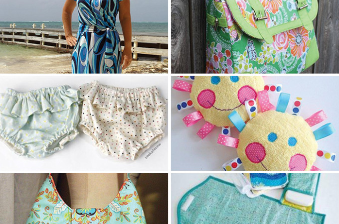10 FREE sewing patterns!