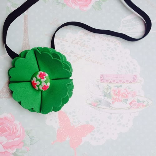Clover Flower Headband