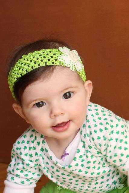 Shamrock Baby Headband