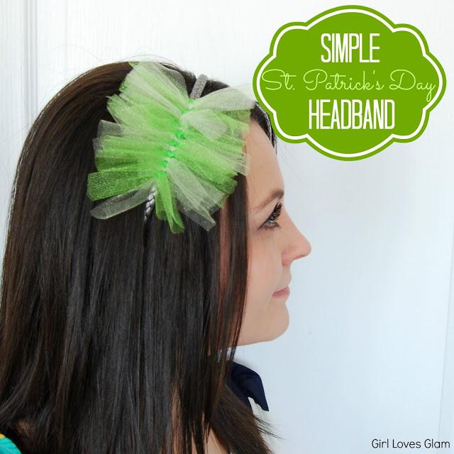 Tulle St. Patrick's Day Headband