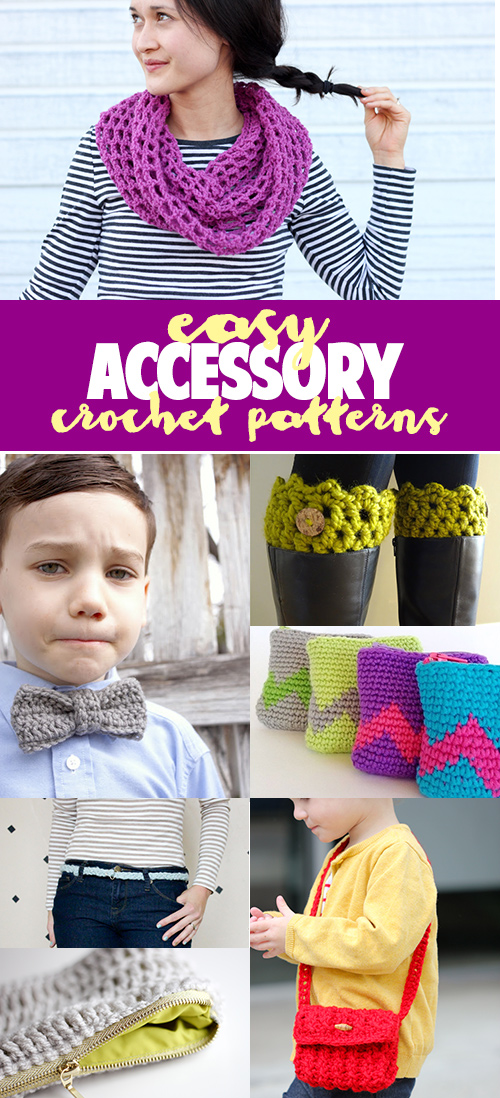 Easy accessory crochet patterns