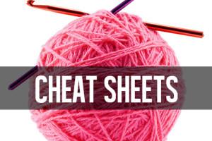 PRINT! Great crochet cheat sheets