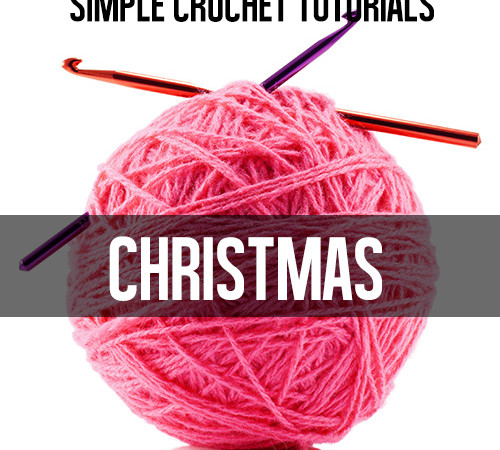 christmas crochet tutorials