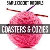 Coasters and cozies crochet tutorials