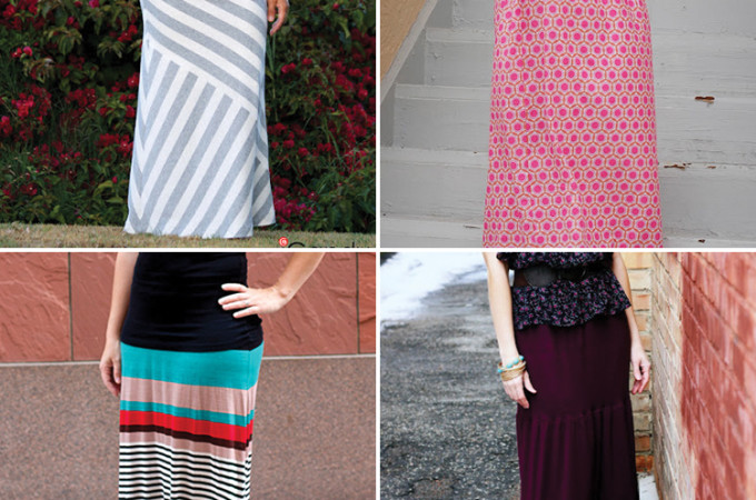 8 Maxi skirt tutorials