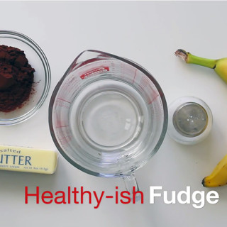 Healthy-ish Fudge – No Sugar Added