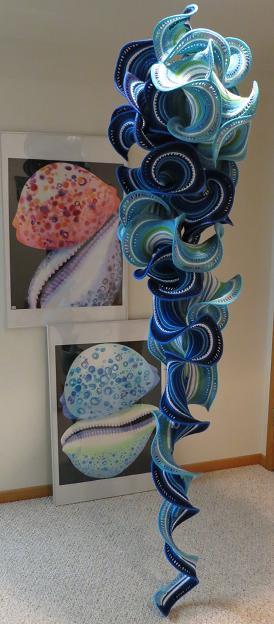 hyperbolic knitted art
