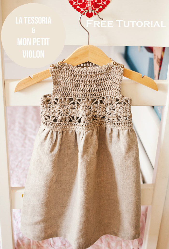 This gorgeous granny square crochet dress tutorial is easy enough for beginners