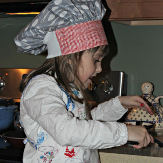 Child's Chef's Hat & Apron