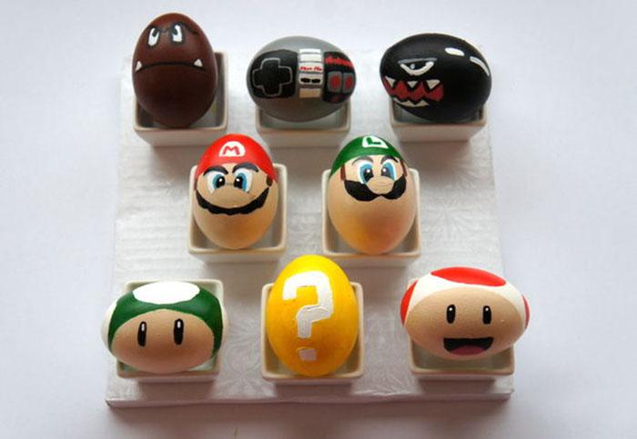 Mario eggs DIY