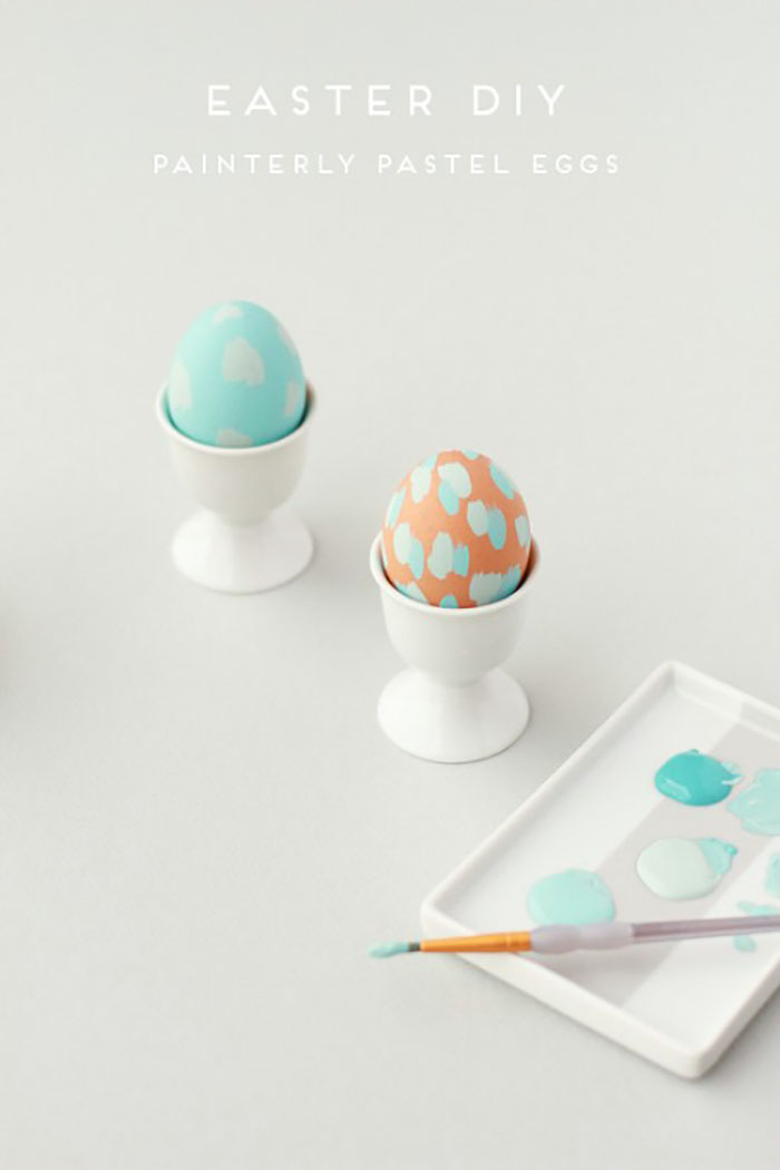 Lovely painted eggs
