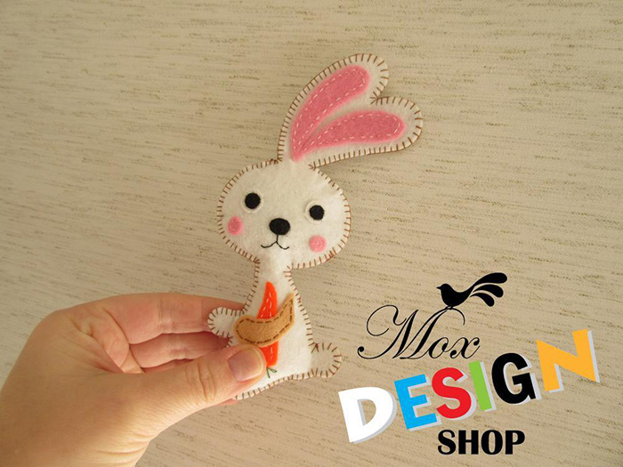 Adorable bunny pattern!