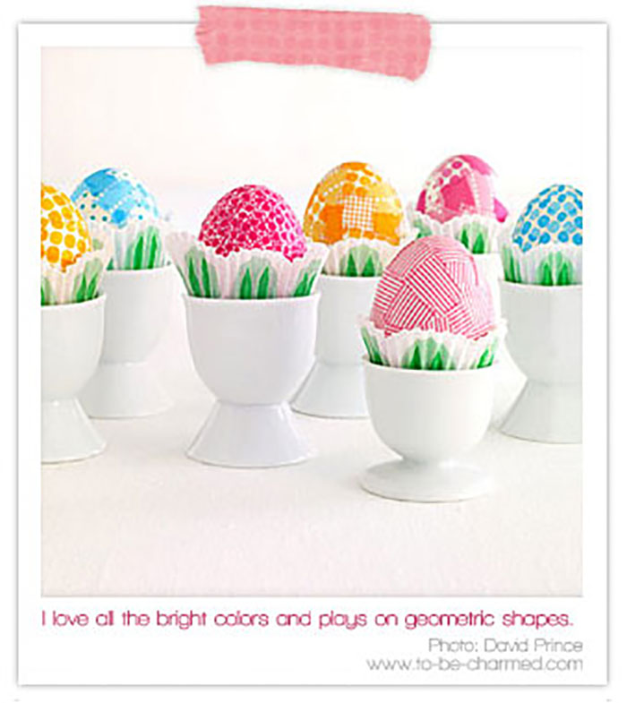 Gorgeous DIY eggs!