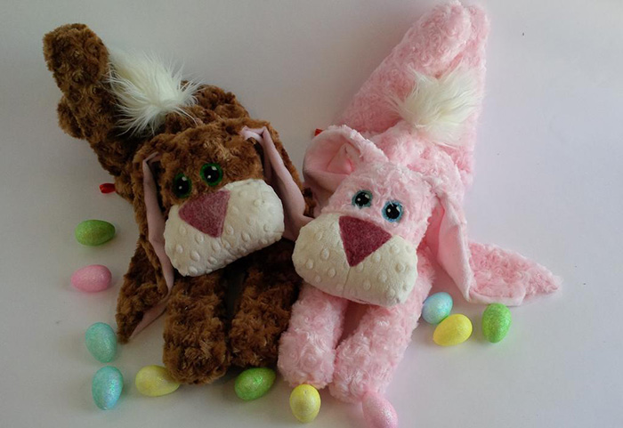 Floppy bunny stuffy pattern