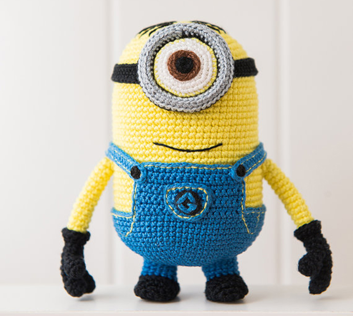 Free Crochet Batman Minion Pattern : 20 Amigurumi Crochet Patterns Youll Love