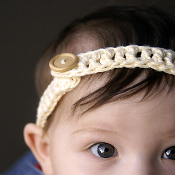 Beautiful crochet headband tutorial