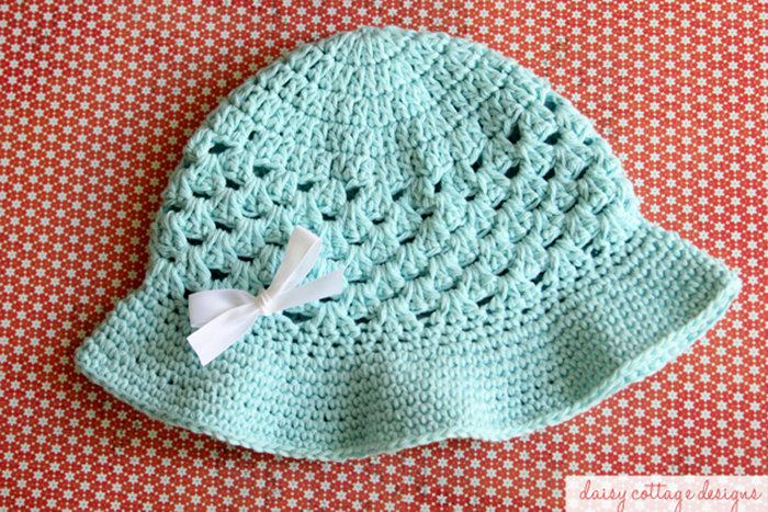 Crochet Baby Girl Sun Hat Pattern ~ Dancox for .