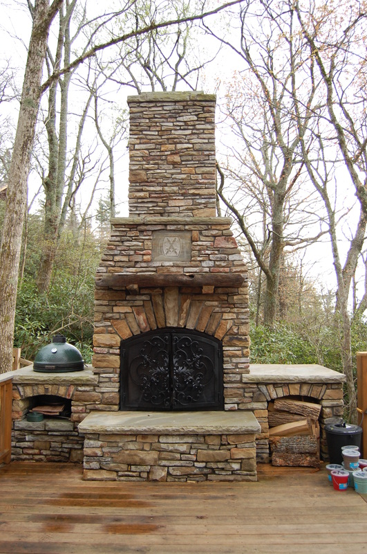 Outdoor Fire Place Tutorial