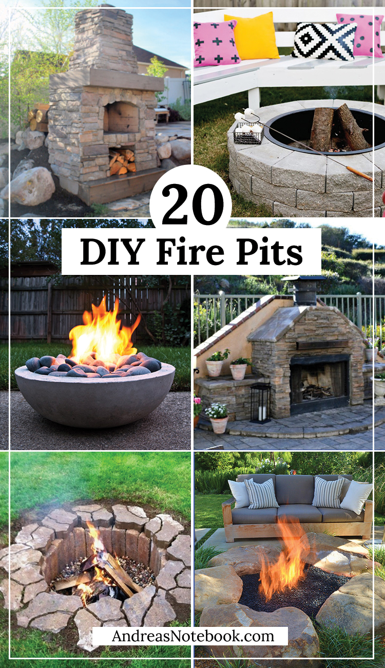 20 Outdoor Fire Pit Tutorials on Diy Outdoor Fire id=23307