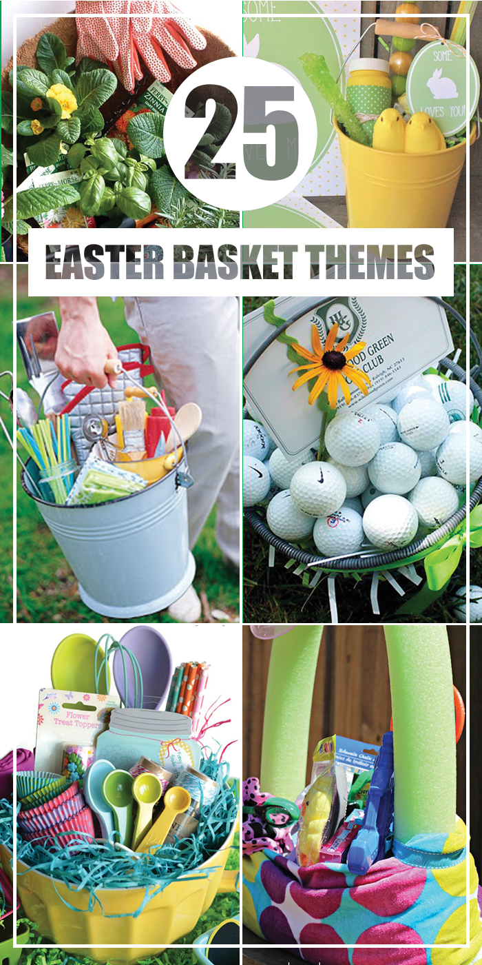 25 Easter Basket Themes